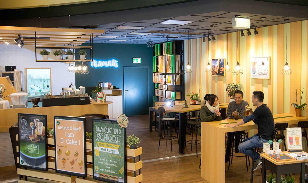 bubble tea aus Düsseldorf